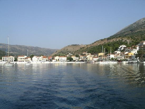 Olive Bay Hotel: Agia Efimia from the sea