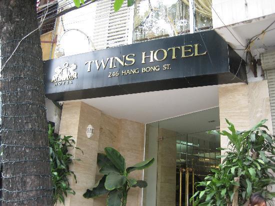 Hanoi Twins Hotel: ハノイ駅近くです