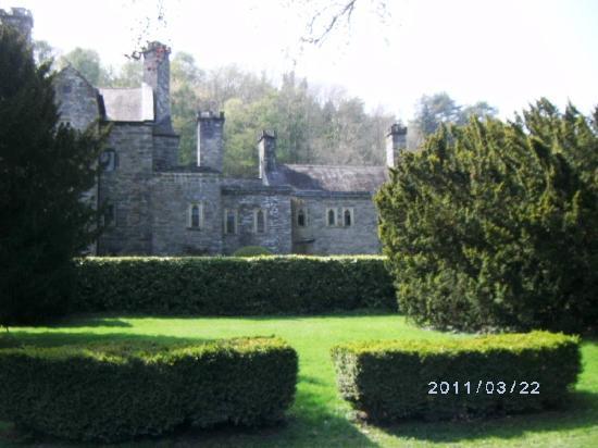 back of Gwydir Castle
