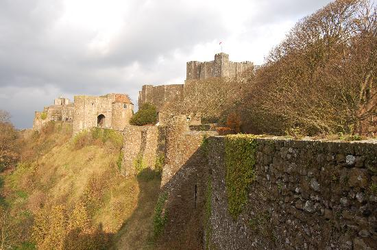 Dover Castle: View from the Outer Wall