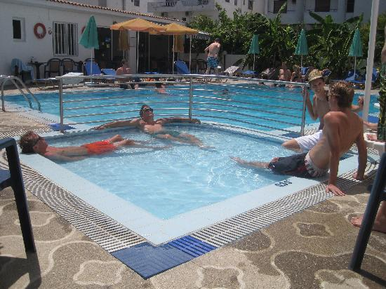 International Hotel: The childrens' pool
