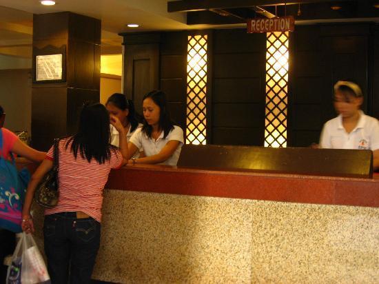 La Carmela de Boracay: reception area