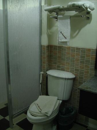 โรงแรมลา คาร์เมลา เดอ โบราเคย์: toilet and bath