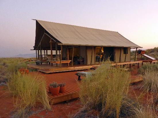 Wolwedans Dune Camp: La nostra tenda