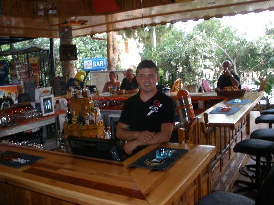 "Magic Tulip Oludeniz : Brilliant smiley ""Jason"" lookalike staff"