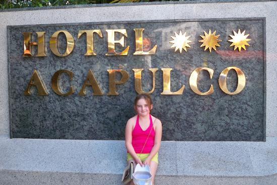 Hotel Acapulco Lloret de Mar : very child friendly x