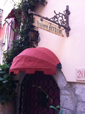 Hostellerie Jerome : l'ingresso