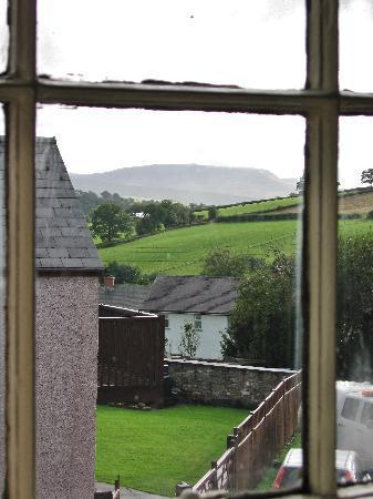 Castle Coaching Inn: from the bedroom window