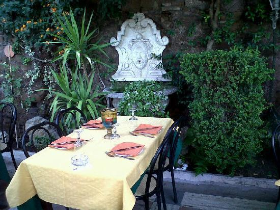 San Michele: Intimacy and privacy plus good food is what the restaurant offers