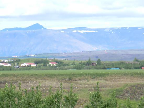 Icelandair Hotel Fludir: View from Fludir