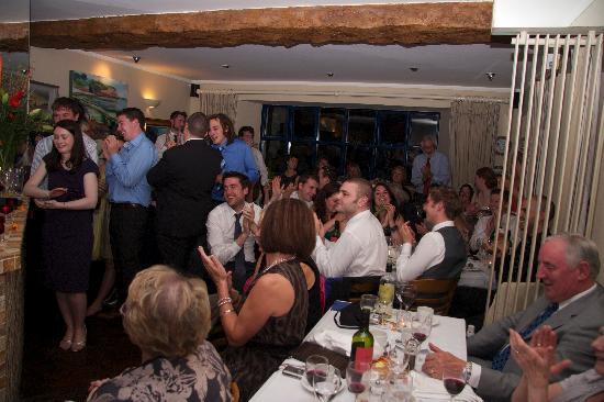 The Strand Inn: Speeches