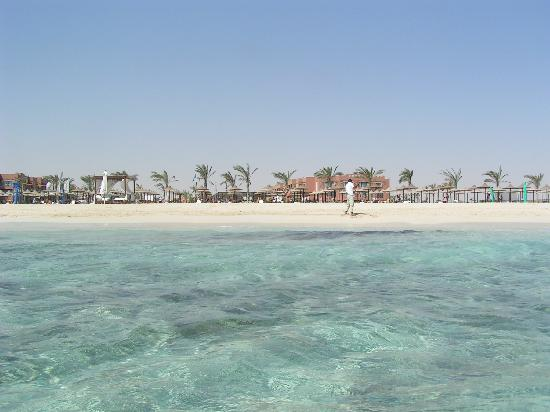 Jaz Oriental Resort: Vista dal mare
