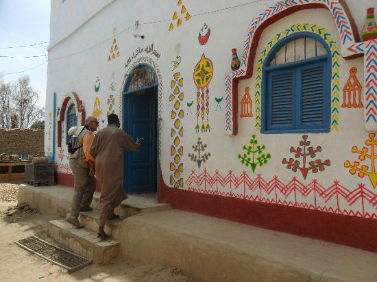 Nubian house on Elephantine Island