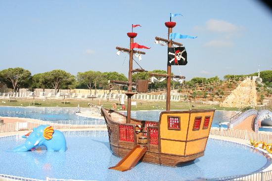 Camping Doñana Playa: Piratas