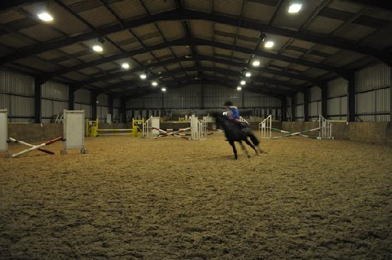 Anglesey Riding Centre: Indoor School