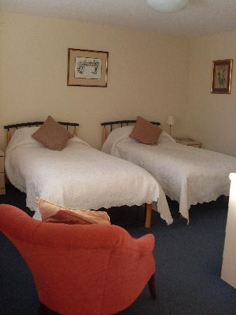 Newent Golf Club and Lodges: Twin room ensuite