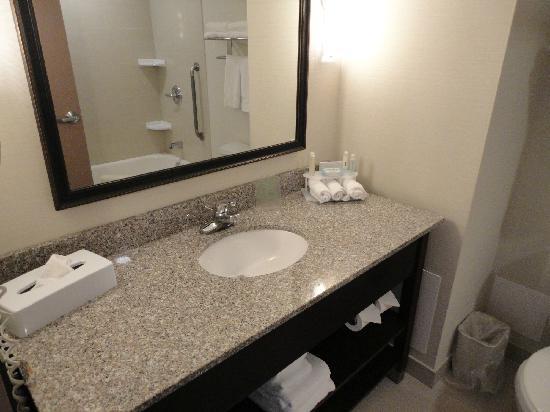 Holiday Inn Express Hotel & Suites Brockville: salle de bains