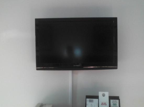 Super 8 Vernon : flat screen plasma tv