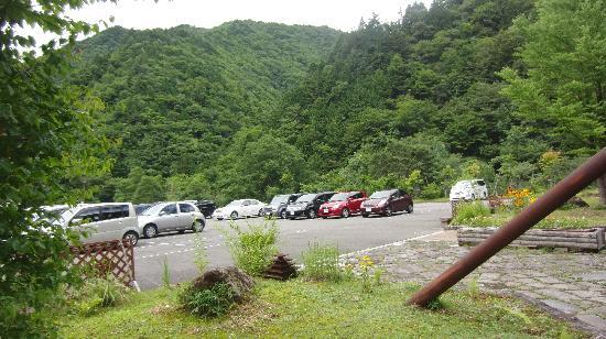 Okura Falls: 駐車場(無料)