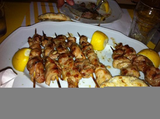 Namma Barbecue: Chicken souvlaki