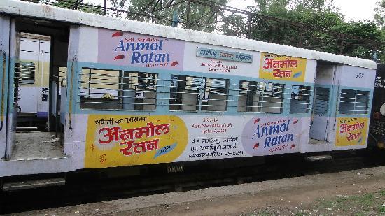 Gwalior Fort: Local Train