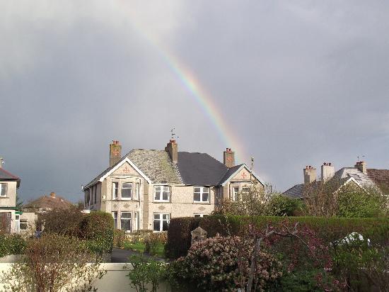 Aaranmore Lodge : Rainbow over Portrush