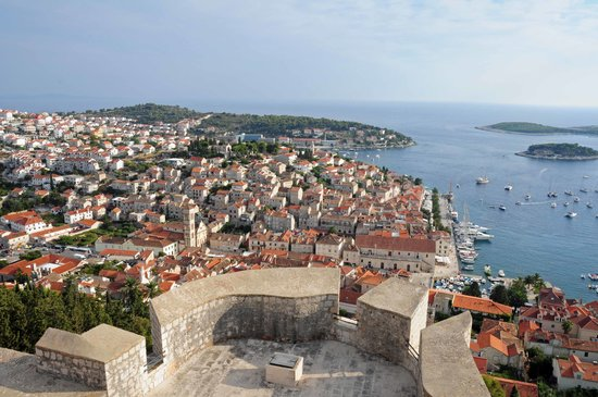‪‪Hvar‬, كرواتيا: Hvar Fortress View‬