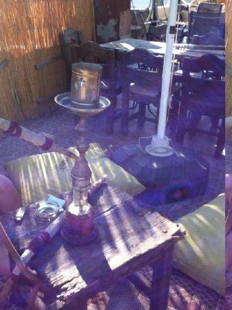 Bahaus Guesthouse: Hookah