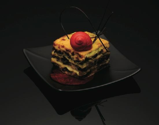 Le Beaulieu : Snail Lasagna