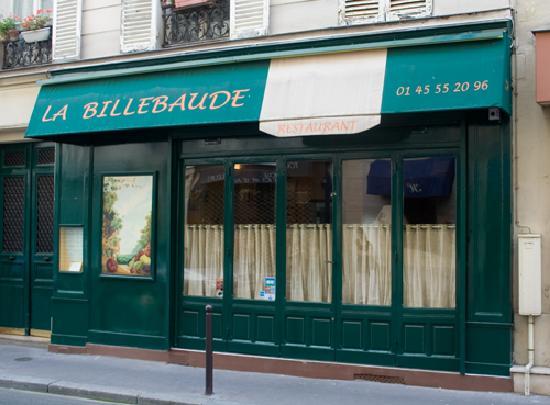 La Billebaude Restaurant Paris