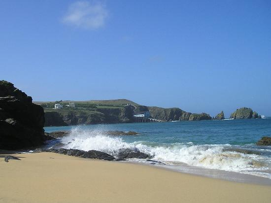 St Merryn, UK: Wonderful private beach