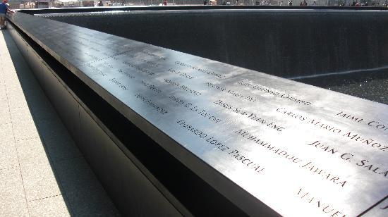อนุสรณ์ 9/11: So many names, so many people.