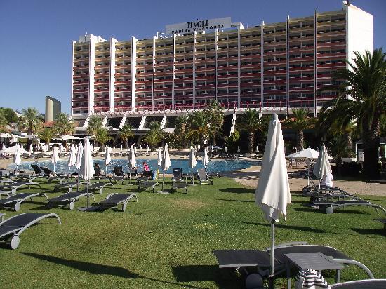 Tivoli Marina Vilamoura: Rear of hotel