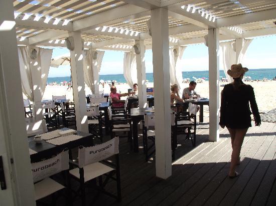 Tivoli Marina Vilamoura: Puro Beach club !!! Cool