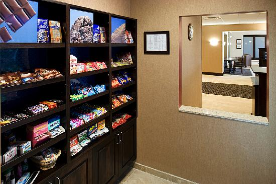 Hampton Inn & Suites Rochester - North: Forgot something or looking for a midnight snack?  We have you covered... come check out our sui