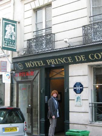 Hotel Prince de Conde: Hotel facade