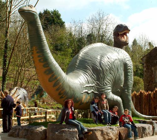 Wookey Hole Caves: Dinosaur Park