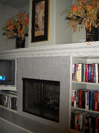 The Guesthouse on Allen Street: Fireplace