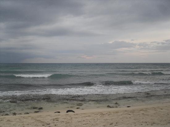 Grand Bahia Principe Tulum: sea bit rocky