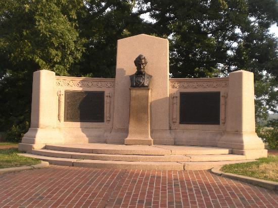 อุทยานทหารแห่งชาติเกตตีสเบิร์ก: Gettysburg Address Memorial