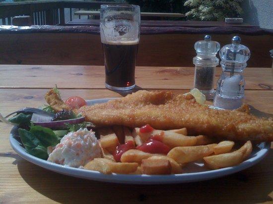 The Tayvallich Inn: My Tarbert Haddock
