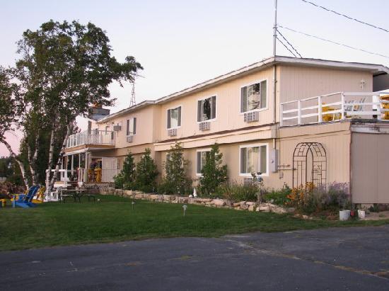 Back of the Beachfront Inn