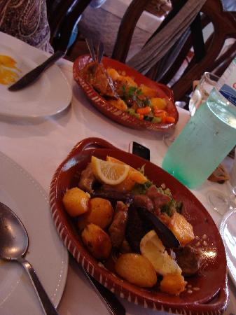Restaurante Inácio : ternera y cerdo al horno