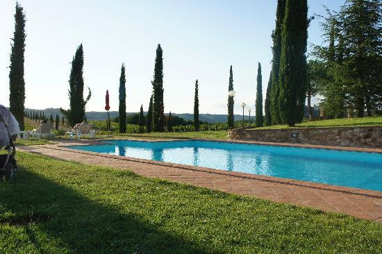 Fattoria Pratale: one of the pools on Pratale 1