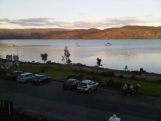 The Royal an Lochan: View from Room