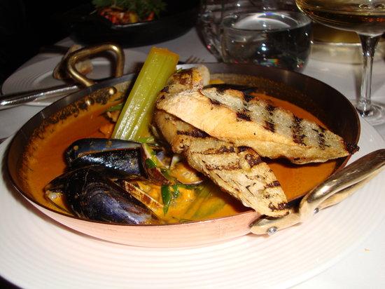 The Savoy Grill : Cornish fish stew