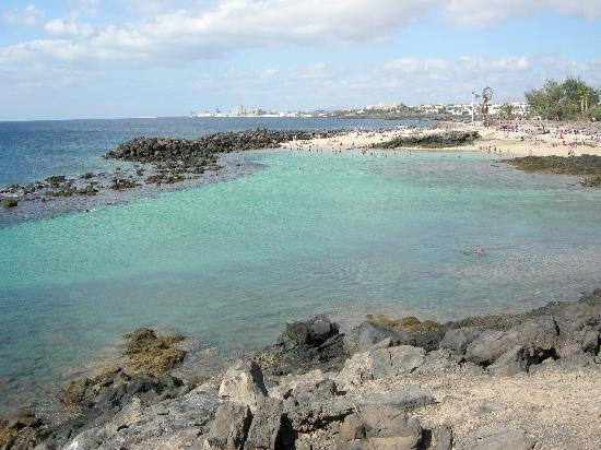 Hotel Club Siroco: Little beach futher up from the main one...about another 5 minutes walk..beautiful!