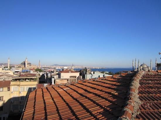 Arife Sultan Hotel: Terrace view