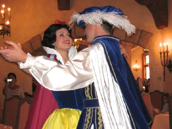Prince charming and snow white dating