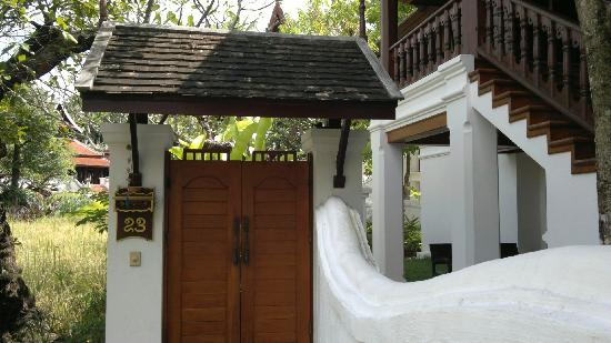 The Dhara Dhevi Chiang Mai: Entrance to 1 room villa